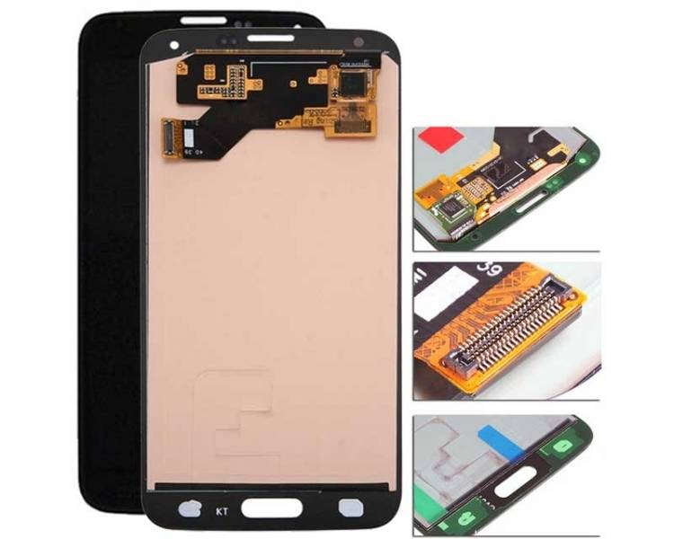 Display For Samsung Galaxy S5 | Color Black |  OLED Samsung - 1