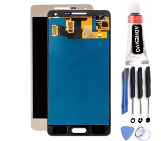 Schermo Display per Samsung Galaxy A5 SM-A500 A500F Oro ULTRA+ - 1