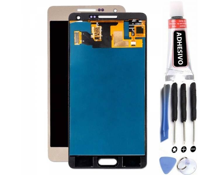 Schermo intero per Samsung Galaxy A5 SM-A500 A500F Gold Gold ARREGLATELO - 1