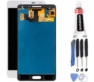 Pantalla Completa para Samsung Galaxy A5 SM-A500 A500F Blanco Blanca ULTRA+ - 1