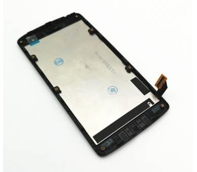 Vollbild mit Rahmen für LG Leon H340 H340N Schwarz Schwarz ARREGLATELO - 6