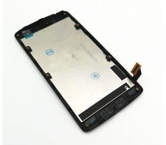 Display For LG Leon H340, Color Black, With Frame