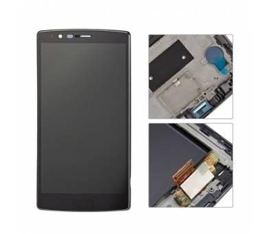 Bildschirm Display mit Rahmen für LG G4 H815 H818 Schwarz ULTRA+ - 2