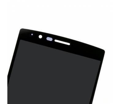 Vollbild mit Rahmen für LG G4 H815 H818 Schwarz Schwarz ARREGLATELO - 5