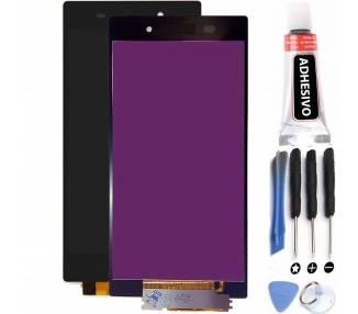 Pantalla Completa para Sony Xperia Z1 L39H C6902 C6903 C6906 Negro Negra ARREGLATELO - 1