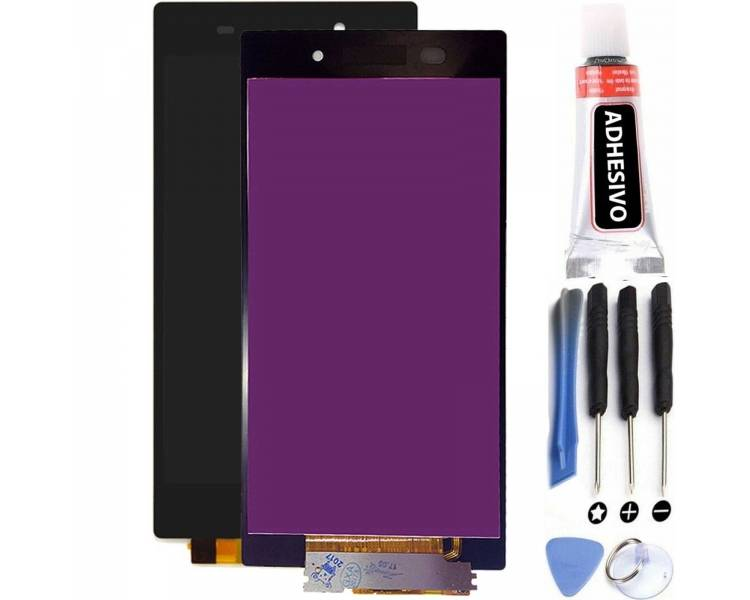 Volledig scherm voor Sony Xperia Z1 L39H C6902 C6903 C6906 Zwart Zwart FIX IT - 1