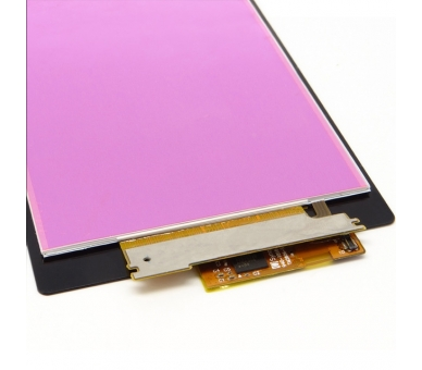 Display For Sony Xperia Z1 | Color Black |   ULTRA+ - 3