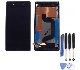 Display For Sony Xperia E3, Color Black