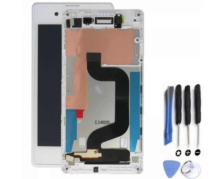 Pantalla Completa para Sony Xperia E3 D2202 D2203 Blanco Blanca ULTRA+ - 1