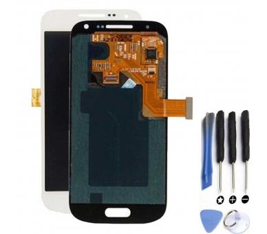 Vollbild für Samsung Galaxy S4 Mini i9195 Weiß Weiß ARREGLATELO - 1