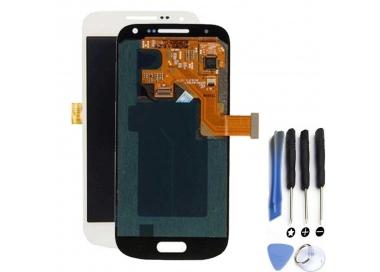 Pantalla Completa para Samsung Galaxy S4 Mini i9195 Blanco Blanca ARREGLATELO - 1