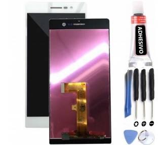 Pantalla Completa para Huawei Ascend P7 Blanco Blanca Huawei - 1