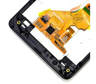 Display For Sony Xperia Z1 Compact, Color Black, With Frame