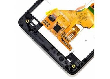 Pantalla Completa con Marco para Sony Xperia Z1 Compact D5503 Negro Negra ARREGLATELO - 1