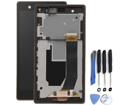 Display For Sony Xperia Z | Color Black | With Frame |