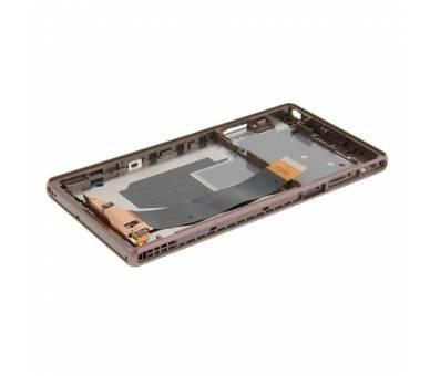Pełny ekran z ramką dla Sony Xperia Z L36h Black Black ARREGLATELO - 3