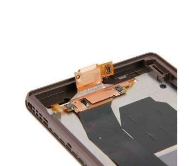 Pełny ekran z ramką dla Sony Xperia Z L36h Black Black ARREGLATELO - 4