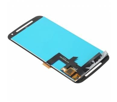Volledig scherm voor Motorola Moto G2 XT1062 tot XT1069 Zwart Zwart FIX IT - 3