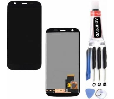 Volledig scherm voor Motorola Moto G Zwart Zwart FIX IT - 1