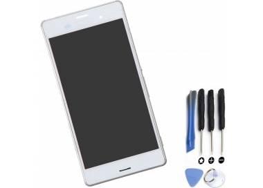 Pantalla Completa con Marco para Sony Xperia Z3 D6603 Blanco Blanca ARREGLATELO - 1