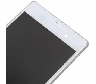 Pantalla Completa con Marco para Sony Xperia Z3 D6603 Blanco Blanca ARREGLATELO - 2