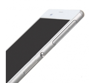 Display For Sony Xperia Z3, Color White, With Frame