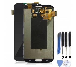 Origineel volledig scherm voor Samsung Galaxy Note 2 N7100 grijs
