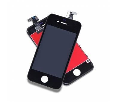 Volledig scherm voor iPhone 4 4G Zwart Zwart A +++ FIX IT - 2