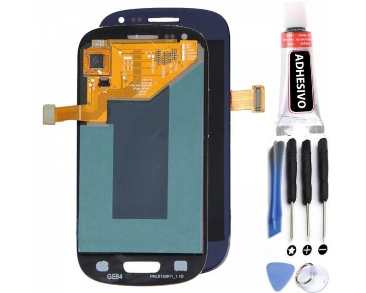Volledig scherm voor Samsung Galaxy S3 i9300 Blue FIX IT - 1