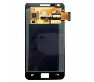 Vollbild für Samsung Galaxy S2 i9100 Weiß Weiß ARREGLATELO - 3