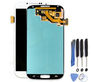 Schermo intero per Samsung Galaxy S4 i9500 i9505 Bianco Bianco