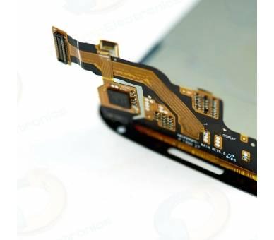 Pełny ekran dla Samsung Galaxy S4 i9500 i9505 Biały Biały ARREGLATELO - 2