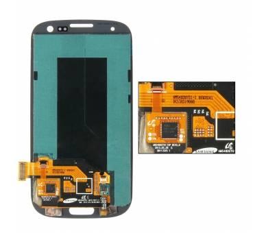 Schermo intero per Samsung Galaxy S3 i9300 Nero Nero ARREGLATELO - 2