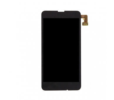 Volledig scherm voor Nokia Lumia 630635 Zwart Zwart FIX IT - 3