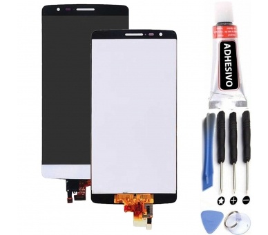 Pantalla Completa para LG G3 S G3S Mini D722 D724 D728 LS885 Blanco Blanca