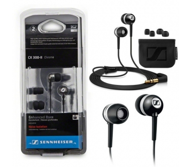 Sennheiser CX 300-II - Auriculares in-ear (reduccion de ruido), color negro Sennheiser - 5