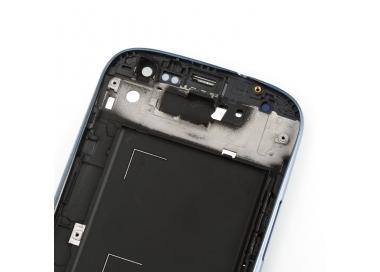 Pantalla Completa con Marco para Samsung Galaxy S3 i9300 Negro Negra Azul ARREGLATELO - 4