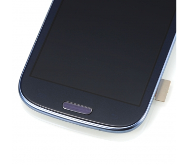 Volledig scherm met frame voor Samsung Galaxy S3 i9300 Zwart Zwart Blauw FIX IT - 5