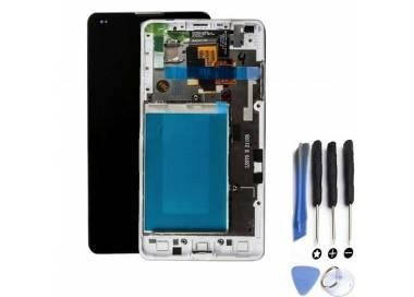 Pantalla Completa con Marco para LG Optimus G E975 Blanco Blanca ARREGLATELO - 1