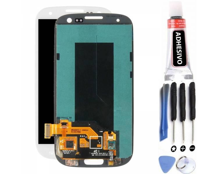Pantalla Completa para Samsung Galaxy S3 i9300 Blanco Blanca ARREGLATELO - 1