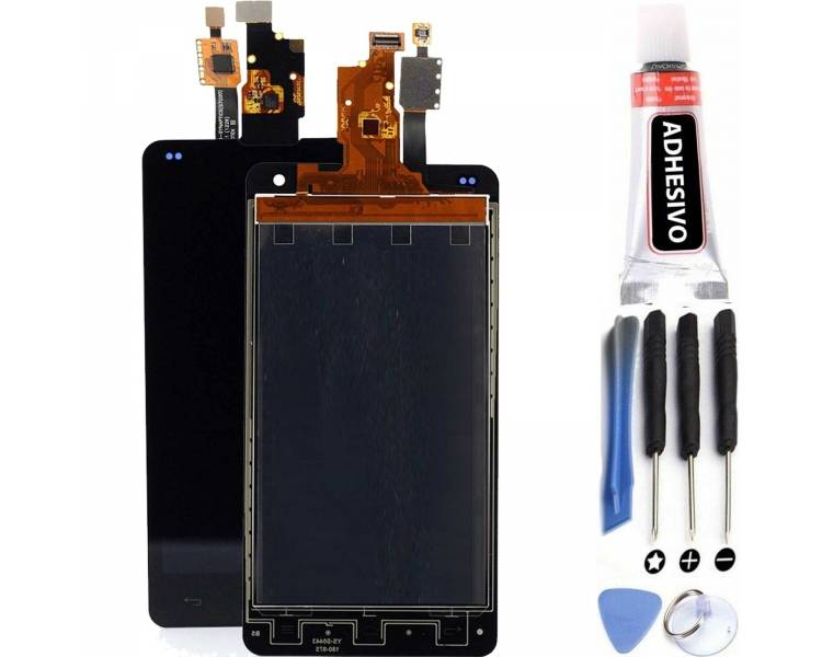 Display For LG Optimus G, Color Black ARREGLATELO - 1