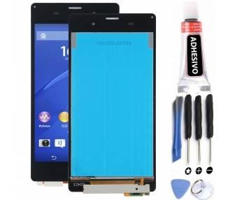 Pełny ekran dla Sony Xperia Z3 D6603 Czarny Czarny