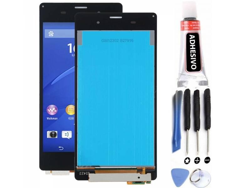 Pantalla Completa para Sony Xperia Z3 D6603 Negro Negra