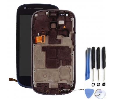 Pełny ekran z ramką do Samsung Galaxy S3 Mini i8190 Blue ARREGLATELO - 1