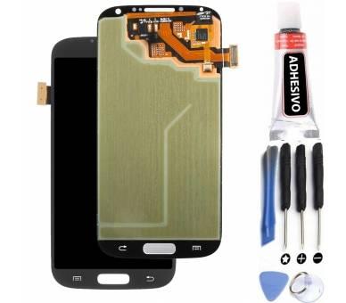 Pantalla Completa para Samsung Galaxy S4 i9500 i9505 Negro Negra ULTRA+ - 1