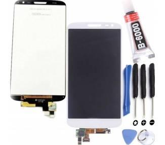 Pełny ekran dla LG G2 Mini D620 D620R biały biały