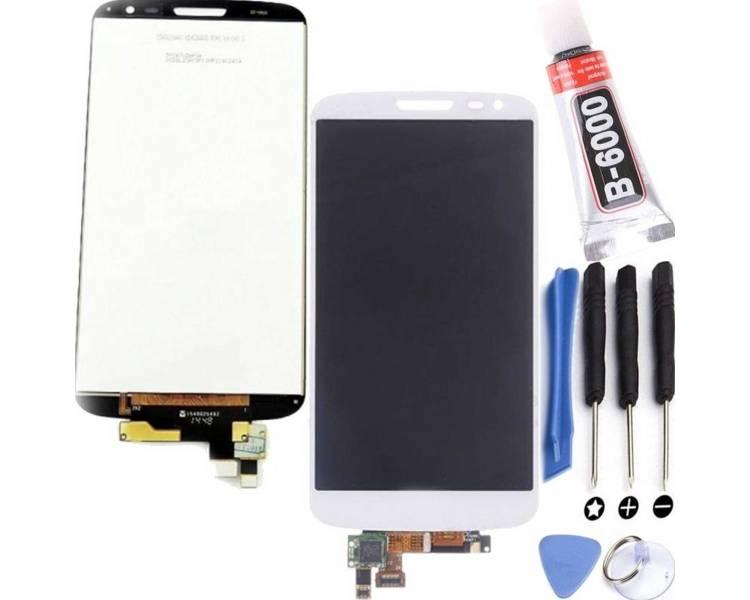 Pełny ekran dla LG G2 Mini D620 D620R biały biały ARREGLATELO - 1