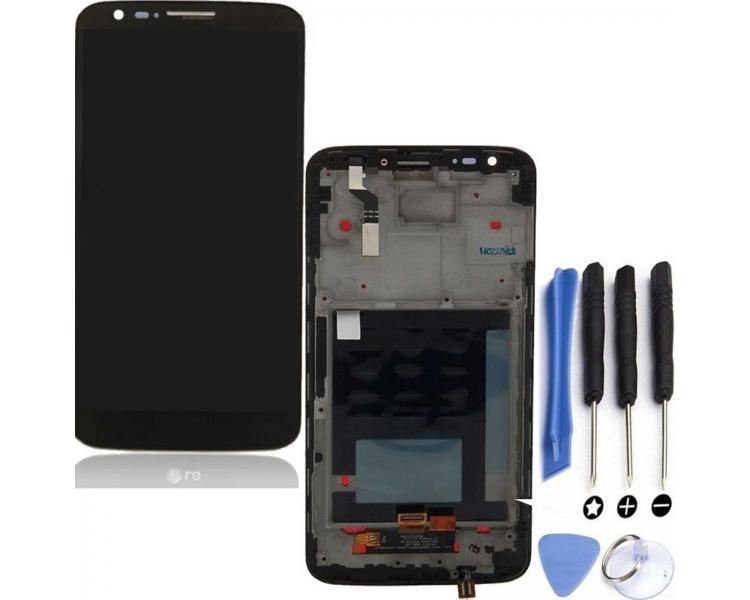 Pełny ekran dla LG G2 D802 D806 z czarną ramką