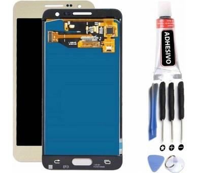 Pełny ekran dla Samsung Galaxy A3 A300 A300F A300FU TFT Gold ARREGLATELO - 1