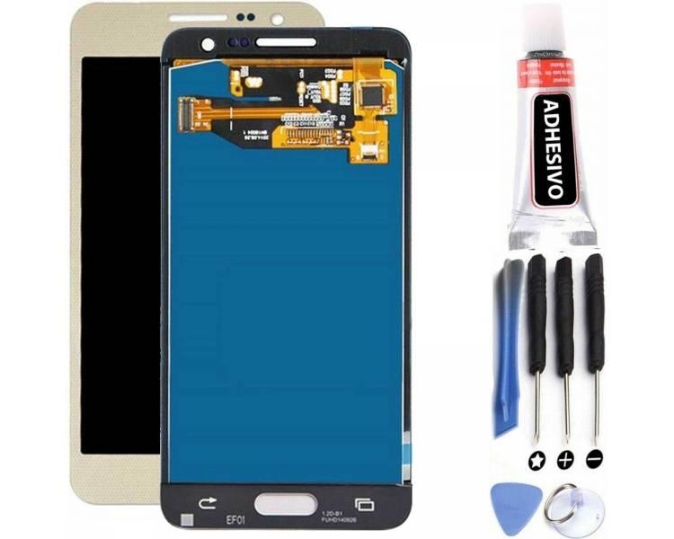 Pantalla Completa para Samsung Galaxy A3 A300 A300F A300FU Dorado Dorada Oro